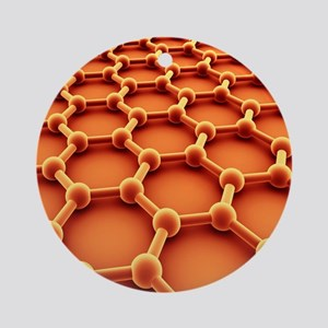 Graphene Round Ornament
