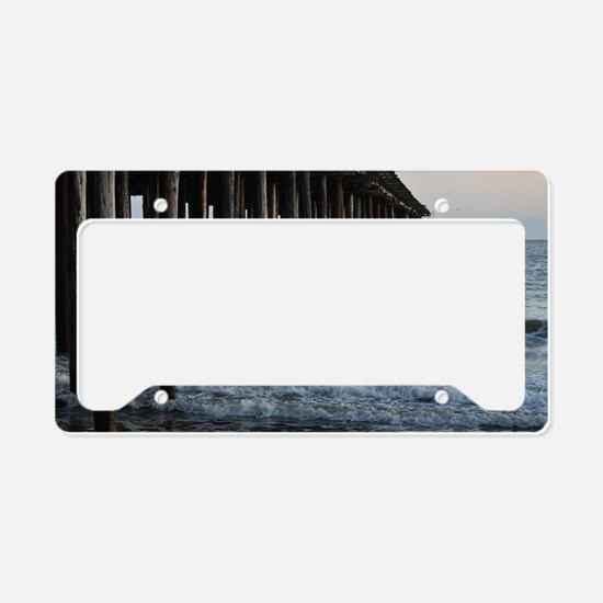 The Pier License Plate Holder