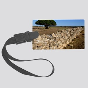 Dry stone wall Large Luggage Tag