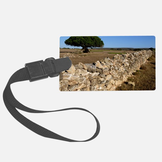 Dry stone wall Luggage Tag