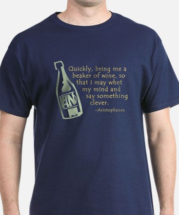 Bring Me Wine Quote T-Shirt