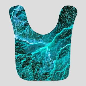 Dry river beds, satellite image Bib