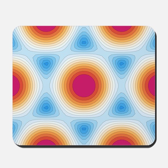 Graphene - optical properties, artwork Mousepad