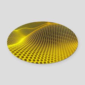 Graphene Oval Car Magnet