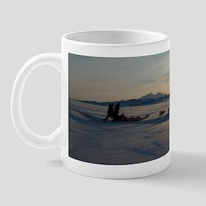Dogsledge, Northern Greenland Mug