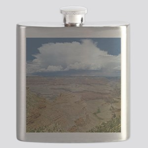 Grand Canyon with Thunderhead Cloud Flask