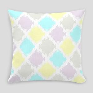 Geometric Ikat traditional ethnic Everyday Pillow