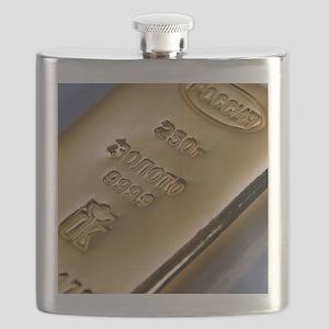 Gold bullion Flask