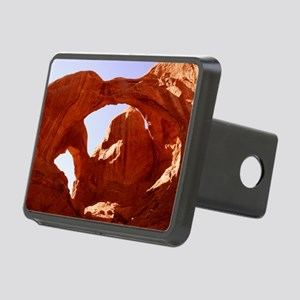 Double Arch Rectangular Hitch Cover