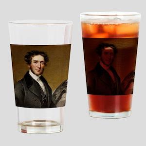 Gideon Mantell and iguanodon Drinking Glass