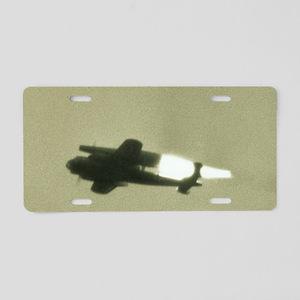 German WWII ramjet bomber i Aluminum License Plate