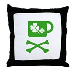 Pirate's Irish Coffee Throw Pillow