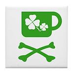 Pirate's Irish Coffee Tile Coaster