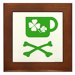 Pirate's Irish Coffee Framed Tile