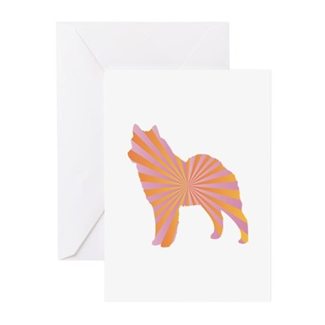 Lapphund Rays Greeting Cards (Pk of 10)
