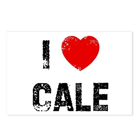 I * Cale Postcards (Package of 8)