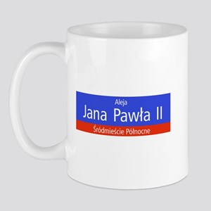 Aleja Jana Pawla II, Warsaw (PL) Mug