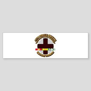 Army - 44th Medical Brigade w SVC Ribbon Sticker (