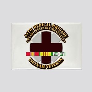Army - 44th Medical Brigade w SVC Ribbon Rectangle