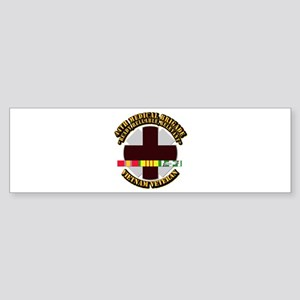 Army - 44th Medical Brigade w SVC Ribbon Sticker (