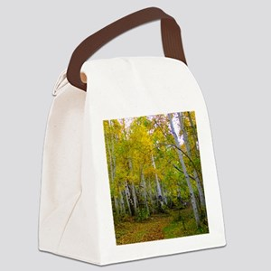 Autumn Yellow Canvas Lunch Bag
