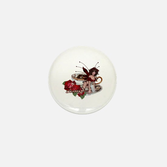 ROSA Teacup Fairy Mini Button