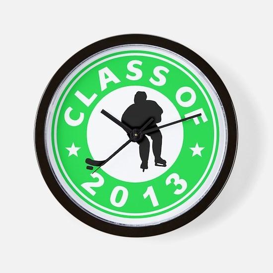 Class Of 2013 Hockey Wall Clock