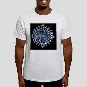 Diatoms, light micrograph Light T-Shirt