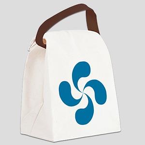 lauburu blue Canvas Lunch Bag