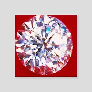 "Diamond Square Sticker 3"" x 3"""