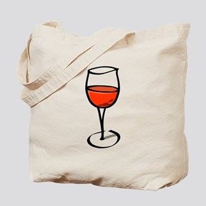 Glass Of Red Wine Tote Bag