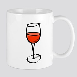 Glass Of Red Wine Mugs