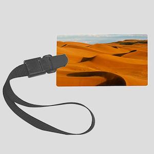 Desert sand dunes at Glamis,near Large Luggage Tag