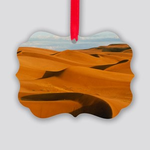 Desert sand dunes at Glamis,near  Picture Ornament
