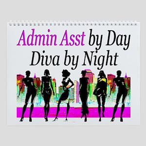 Admin Asst Diva Wall Calendar
