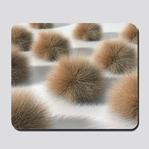 Fungal skin infection, artwork Mousepad