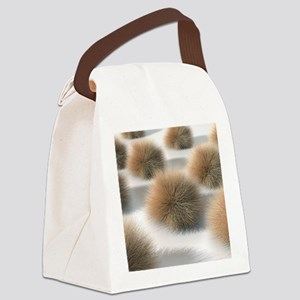 Fungal skin infection, artwork Canvas Lunch Bag