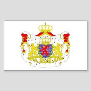 Luxembourg Rectangle Sticker