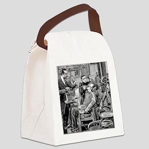 Dental surgery, 19th century Canvas Lunch Bag
