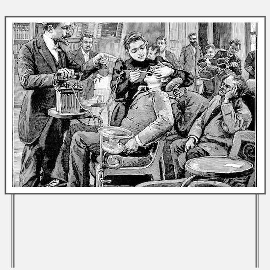 Dental surgery, 19th century Yard Sign