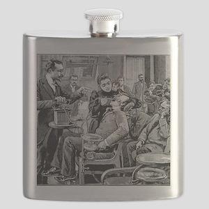 Dental surgery, 19th century Flask