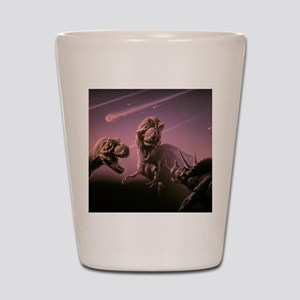 Death of dinosaurs Shot Glass