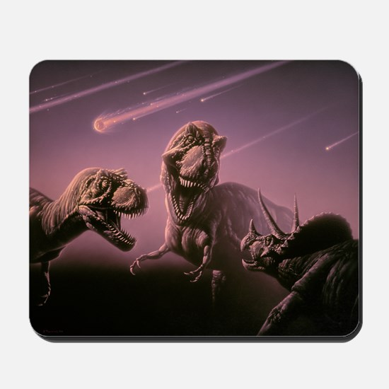 Death of dinosaurs Mousepad