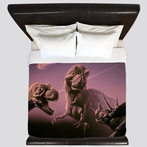 Death of dinosaurs King Duvet