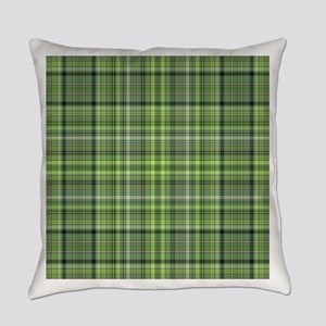 Green Plaid 4 Everyday Pillow
