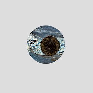 Deformation structure in schist Mini Button