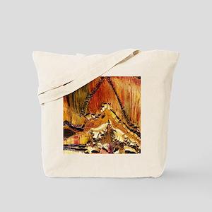 Deformation in tiger ironstone Tote Bag