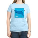 i dive - manta Women's Light T-Shirt