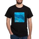 i dive - manta Dark T-Shirt