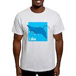 i dive - manta Light T-Shirt